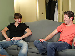 Daniel's new roommate proposes to him amateur gay models