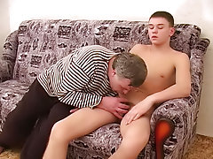 He enjoyed being facefucked by the strong puerile stud till the cock was tough enough to enter the ready body from the other side free amature gay por