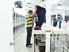 Legs were being tossed in the air and some ass was getting pounded while customers washed clothes african male hunks climax