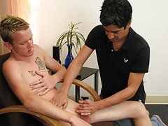 When he sees that Keith is still not relaxed, he blind folds him things guys say to jerk off