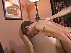 Reese and Taylor kiss as they trail their clothes off and claw each other's tight bodies male anal sex positions