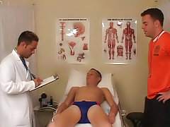 My coach took off his shirt and then was jerking me off, while the doctor proceeded to finger my ass hole thai boys fucking