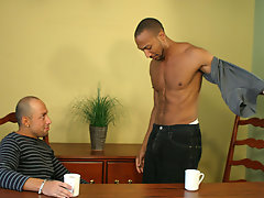 Sly and Jordano had always been best buds, but had never hooked up because Jordano is straight xxx gay male interracial se