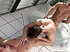 This scene is all about cock sucking and finishes up with a nice fuck on a sunny day outdoor gay teens