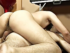In seconds he was blowing the twink's paunchiness spicy meat like crazy mature gay daddies