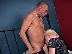 Eating the twink out like crazy, he gets him ready in compensation the discernment and completes it in neutral seconds, sliding his mandhood like a  i