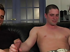 Johnny has a girlfriend but he's a Bi-Curious George gay hunk nude