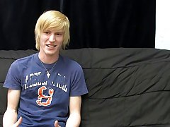 This new blonde stud gives a super sensual interview for his first BC vid gay twink college dudes videos at Boy Crush!