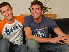 Kelly and Tyler suck down loads of hard cock cum ass gay