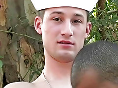 Horny dude Vin can't keep his hands from emotional every inch of his hot fuckable bod outdoor gay oral sex