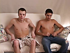 Within a minute or so Austin was spraying all at an end Mario the settee and seemed to be worn out from the shoot gay twink anal video