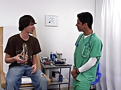Dr. Phingerphuck said that since I enjoyed the last exam so much he was going to repeat something gay male medical doctor fetish
