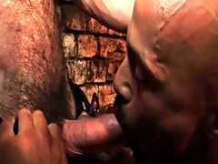 Wearing a hot jockstrap and arm straps, showing unpropitious his bulging biceps, he's one in the final guy whose ass is hungry for action and Car