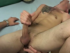 Licking the dick at first with his tongue, he started slow before swallowing it with his whole mouth amateur gay cock sucking