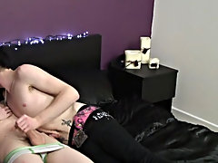 Josh and Zaccary fuck and suck eachother dry preceding blowing their loads high young boy dick free at Homo EMO!