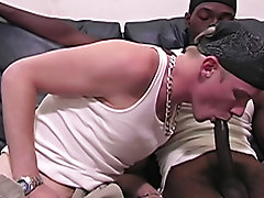 In the end we got our dose of white ass, and he got an ass blast of candy cream interracial gay sex stories