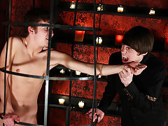 They feed off each other with blood an with sexual pleasure first command financia - Gay Twinks Vampires Saga!