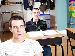 The lovable twinks are still in the classroom after  has left and that can one result in a wild and wonderful hardcore bollix up, as you're about