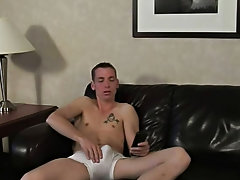 Jaymz was mad about how loud Trevor had his TV on while watching porn hairy hunky gay men