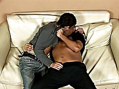 Check out the swarthy boy and his hunky lover explore each other's bodies with kisses and finally whip visible their more than sizeable fuck tool