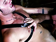 I like these guys' physiques - solid, masculine and with a decent coat of body hair big smooth gay guys at Backroomfuckers