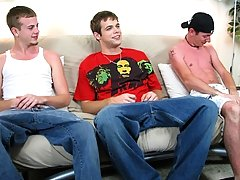He has been with both guys contemporarily, so he should be comfortable with each of them fraternity gay group se