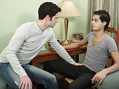 Johnny knew better, and helped to unfasten Nate's love-locker with some tawdry tonguing before finally delivering Nate's asshole its first h