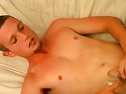 Gay cum eating mouthful and adult cumshot...