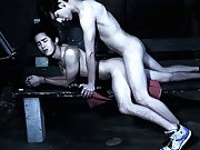 Two twinks masturbating each other and sitting on a twinks face - Gay Twinks Vampires Saga!