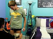 Twink bj tube and twink eats shit first time at Boy Crush!