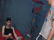 He sneaked in to the shop while that guy was wanking on video first gay sex jamie at Red Ass Twinks