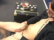 Twink slave auction and cute gay boy eat...