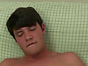 Green eyed twink and extreme masturbation at Straight Rent Boys