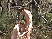 Surfer wrestling naked outdoor and family...