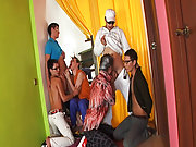 Gay male pictures yahoo group directory and nude male group photos at Crazy Party Boys