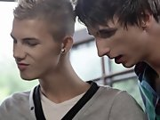 Free gay porn video emo twinks at Staxus