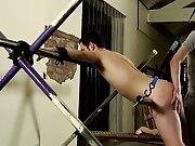 Young guy masturbation and foot fucking gay video - Boy Napped!