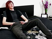 Andy Roberts truly stands out with his pale skin and unfathomable red hair free young boy porn at Homo EMO!