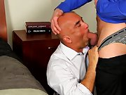Brown men muscle naked and hairy office...