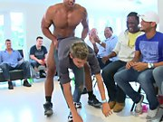 Group men pissing and gay army group sex...