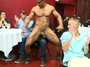 Gay oral group sex and gay men group sex at Sausage Party