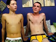 Tiny dick young twink and cute gay straight latino boys
