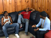 Ebony gay black studs and black men with man boobs