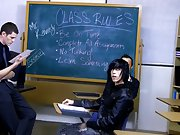 This is a behind the scenes clip from Nate Kennedy and Tyler Bolt's classroom fuck gay twinks having sex at Teach Twinks