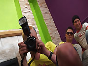 Group gay and lesbians fuck and gay gang bangs orgy group sex at Crazy Party Boys
