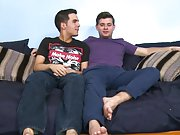 Gay twinks sleeping milking and tiny gay...