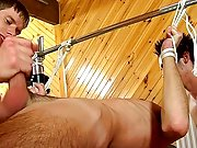 Devices for male bondage and hairy sexy hunky men - at Boys On The Prowl!