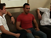 Teen jerking gay men group and gays in...