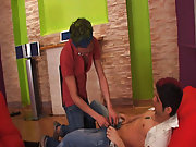 Gay group cock sucking and online gay foot toe fisting groups at Crazy Party Boys