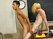 Emo twinks suck cock and black men fucking a twink white guy at Teach Twinks